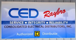 CED Raybro Clearewater Largo Sign