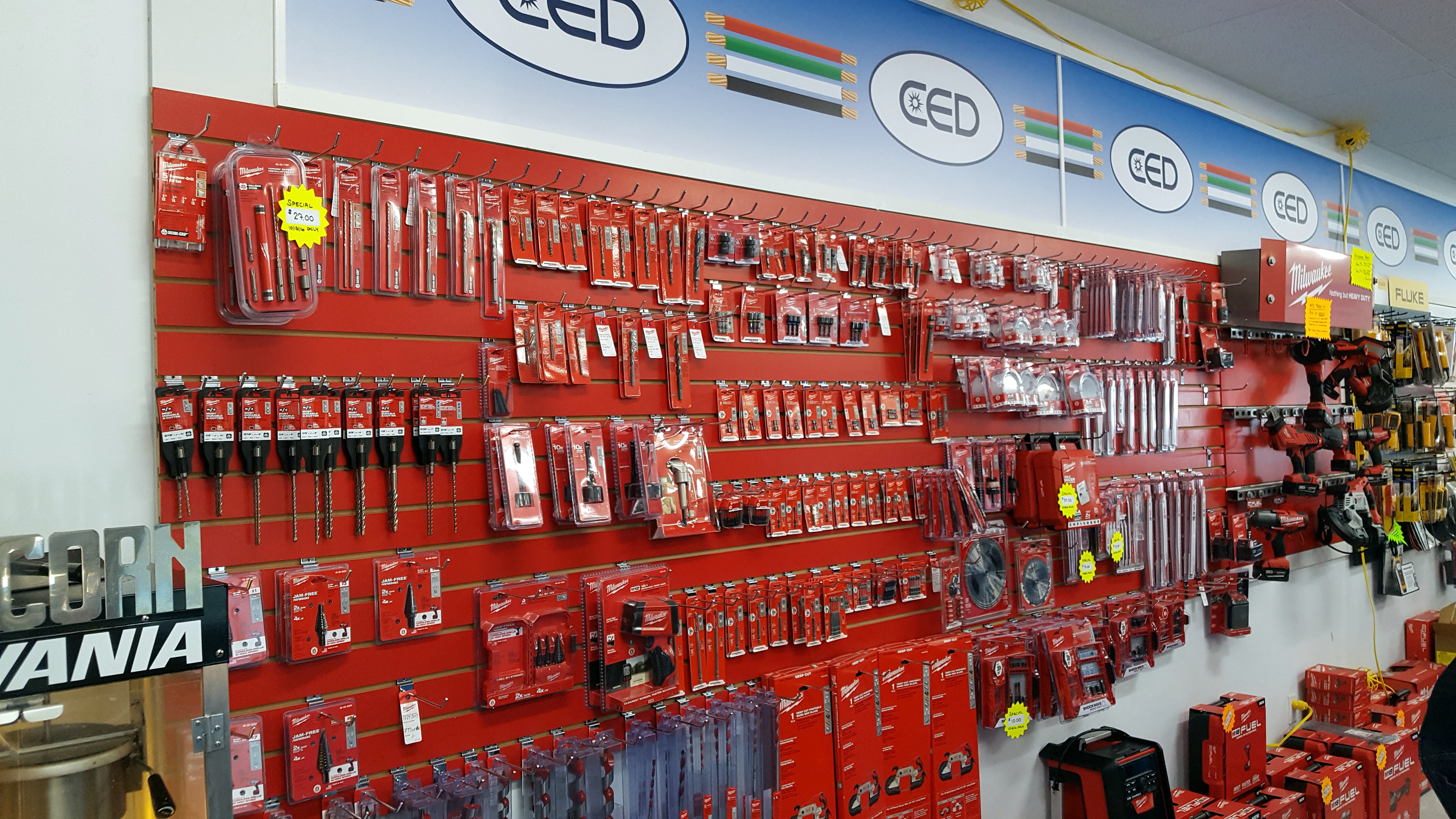 CED Raybro Clearwater Largo - Milwaukee Tools Product Showroom