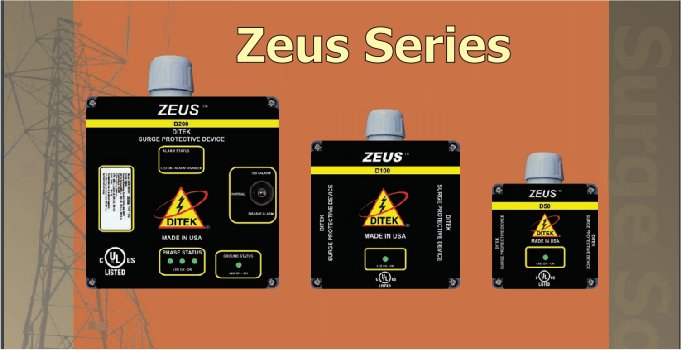 DITEK Zeus Series Surge Protection