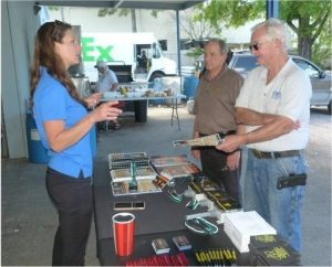 DITEK Discussing Surge and Protection Solutions with Curt Voysey owner Curt's Electric, Largo FL